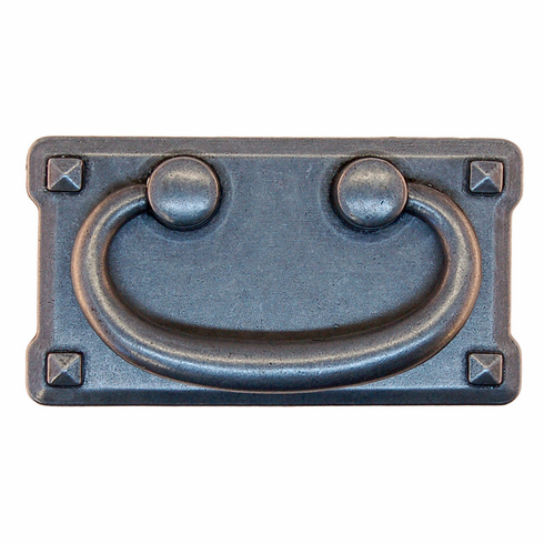"Mission Style Drawer Pull-3"" Pewter"