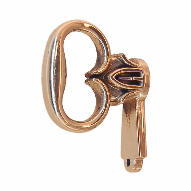 Mock Door Key - Brass