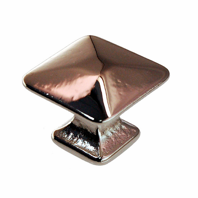 Nickel Mission Pyramid Knob - 1""