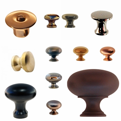 Simple Round & Oval Knobs