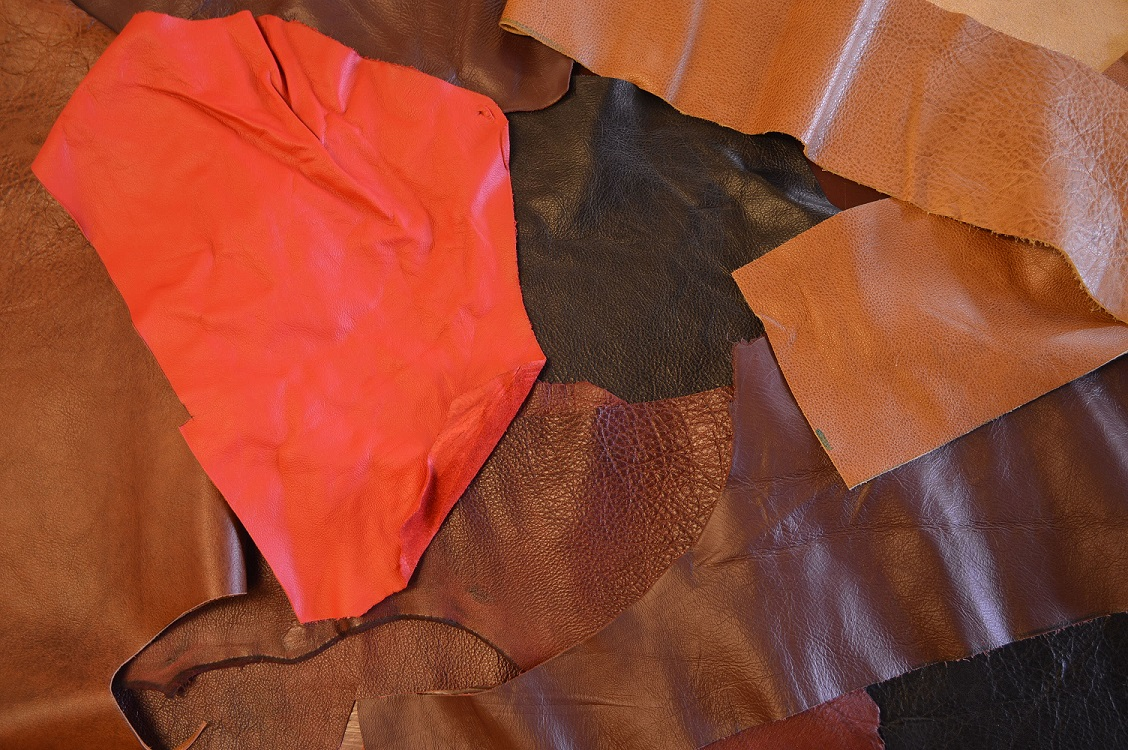 Upholstery Leather Grab Bag