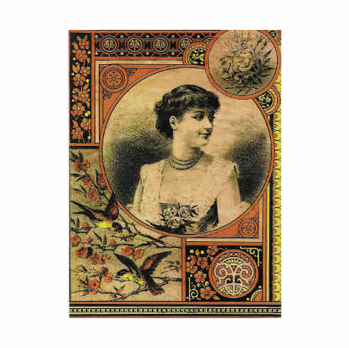 Woman with Birds