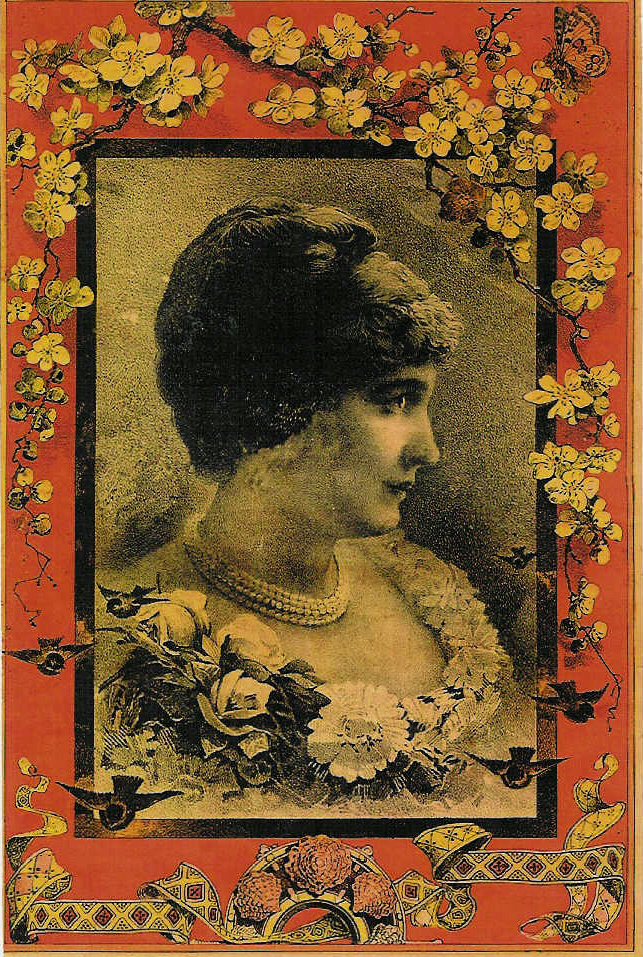Woman with Carnation