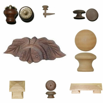 Wood Knobs and Handles