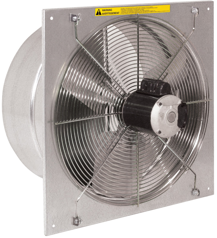 16 Inch Commercial Exhaust Fan with Shutter