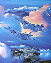 "1996 Official Class Print ""Dawn's Early Light"""