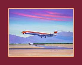 Airliner Limited Edition & Canvas Prints