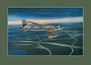 B-52 Buff 18x23 Paper Edition Studio Proof