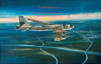 B-52 Buff 18x28 Canvas Edition
