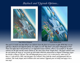 USAFA Limited Editions & Canvas Upgrade Editions