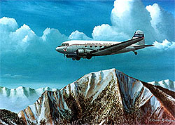 Continental Airlines DC-3