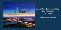 Dover C-17 over Dover Memorial Bridge: 3 Available