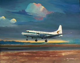 Frontier Airlines Convair 580