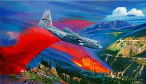 """MAFFS 7 Commemorative Painting: """"Painting the Line..."""" Canvas Editions"""