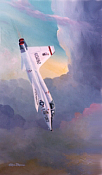 "T-38 Talon ""Dive"" 14x24"