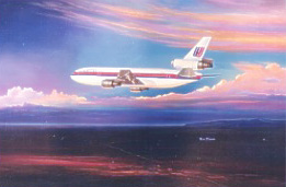 United Airlines DC-10 10