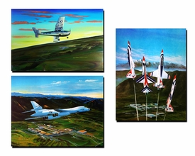 United States Air Force Academy Official Class Prints: 1970-1979