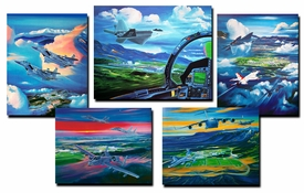 United States Air Force Academy Official Class Prints 1995-1999