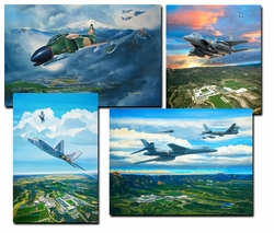 United States Air Force Academy Official Class Prints 2011-2018