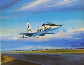 "USAFA 1980 ""Talon Takeoff"" Official Class Print LIMITED"