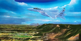 "USAFA 1981 ""Second to None"" Canvas 15x28"