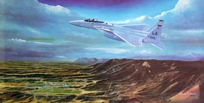 "USAFA 1981 ""Second to None"" Official Class Print"