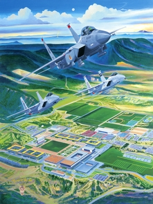 "USAFA 2003 ""The Strong & The Mighty"" Canvas Editions"