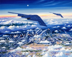 """USAFA 2004 """"Ready to Roll"""" Canvas Editions"""