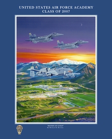 "USAFA 2007 16x20 ""Bonds of Gold"" Canvas & Paper Editions"