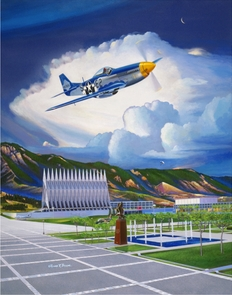 USAFA 2009 Commemorative Class Painting Canvas Editions