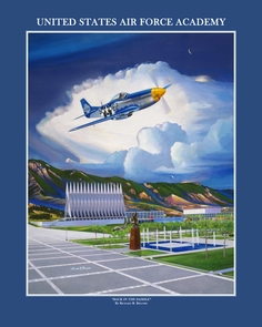 USAFA 2009 Commemorative Class Prints Canvas & Paper
