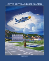 USAFA 2009 Commemorative Class Print: Canvas Only