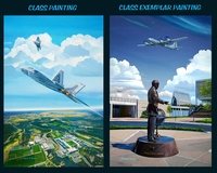 USAFA 2012 Class Painting: Class Fund Edition