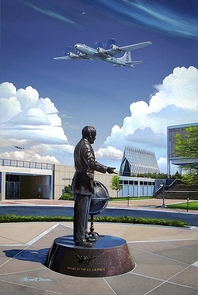 "USAFA 2012 ""My Dear Curt..."" 16x24 Canvas:"