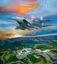 USAFA 2015 OFFICIAL CLASS PAINTING: