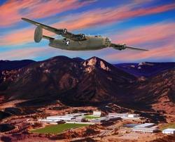 USAFA 2018 Official Class Painting: Canvas Editions: DEPOSIT