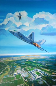 """USAFA Class of 2012 Official Class Prints: Canvas & Paper Editions: """"Attention To Detail"""""""