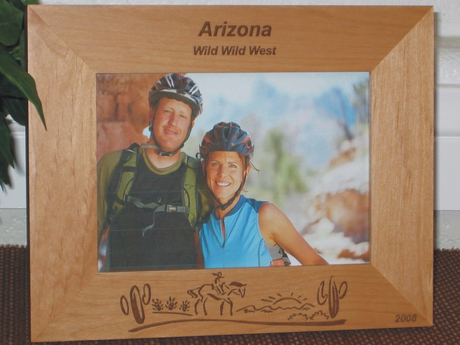 Arizona Picture Frame - Personalized Souvenir Frame - Laser Engraved ...