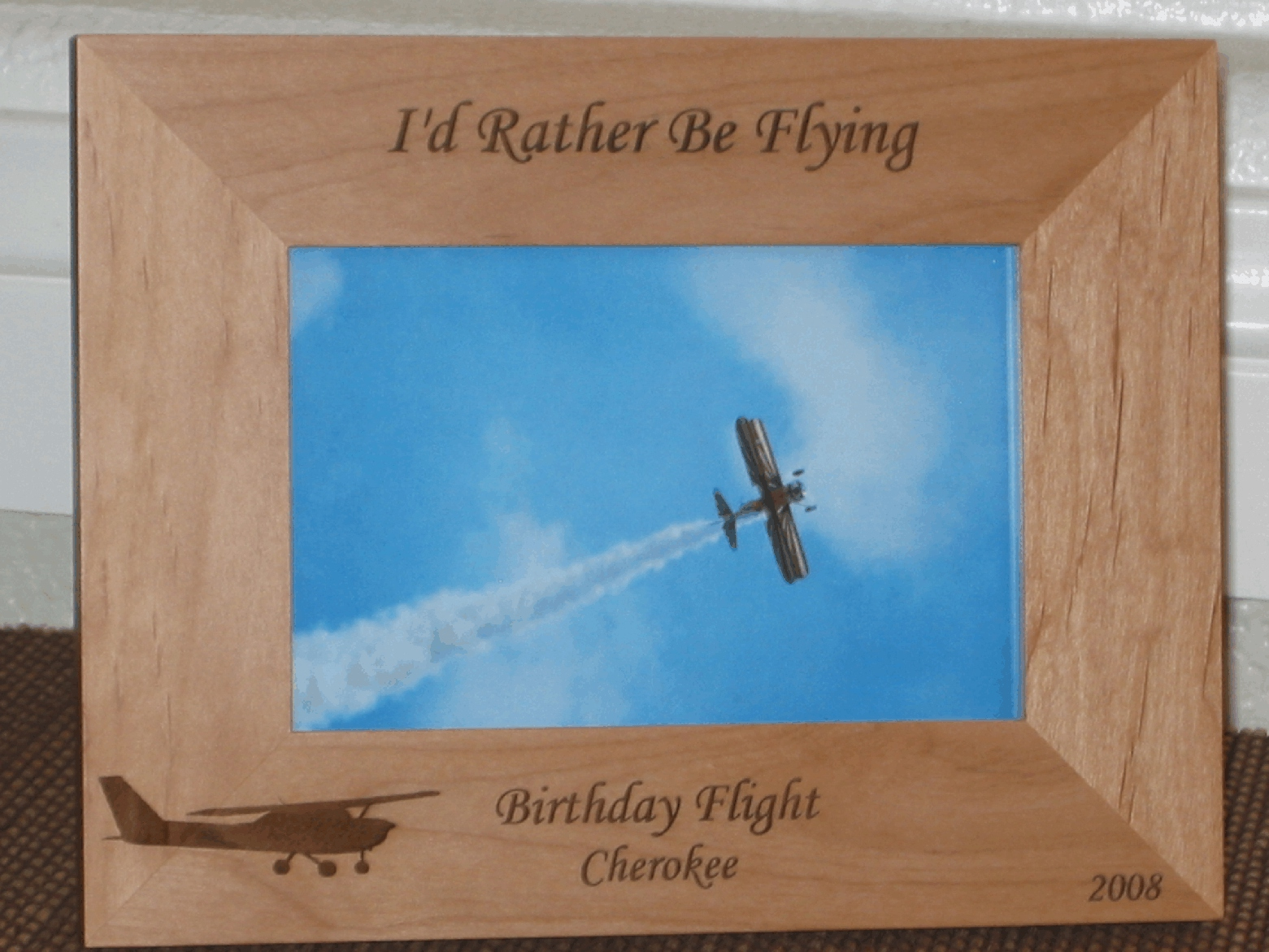 Occupation picture frames personalized occupation picture frames aviator picture frame personalized frame laser engraved airplane jeuxipadfo Gallery