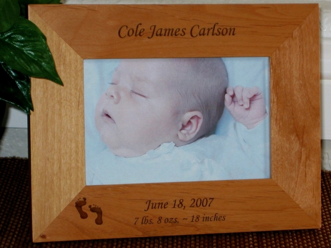 Personalized Baby Picture Frames