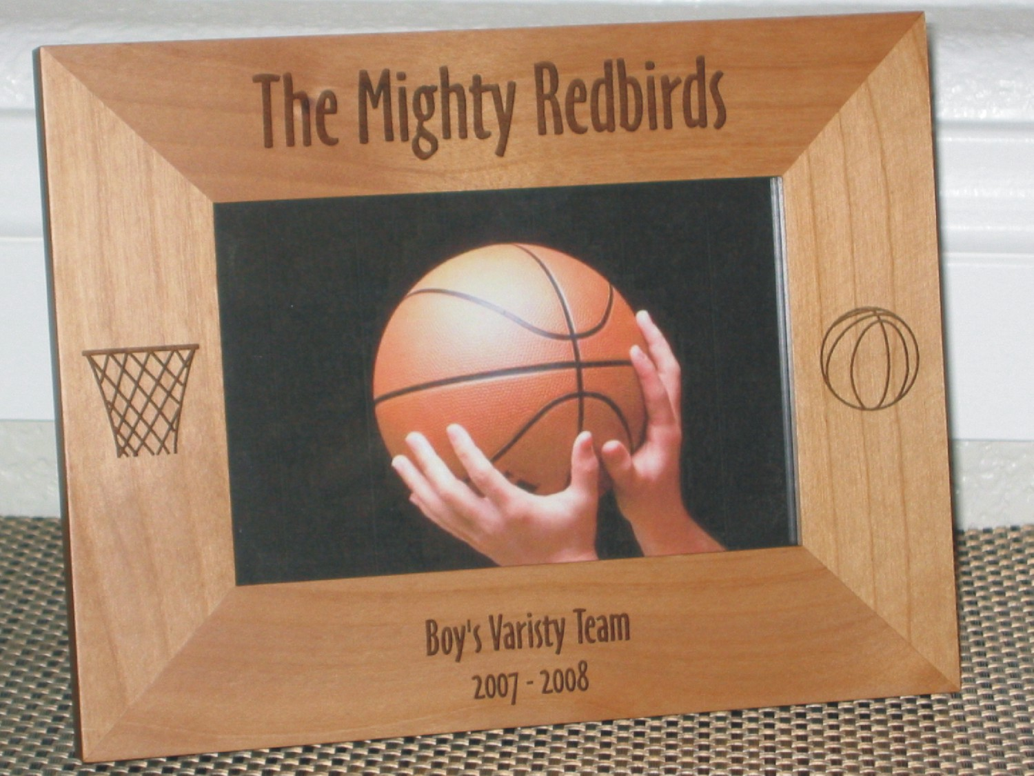 Basketball Picture Frames - Personalized Basketball Picture Frames
