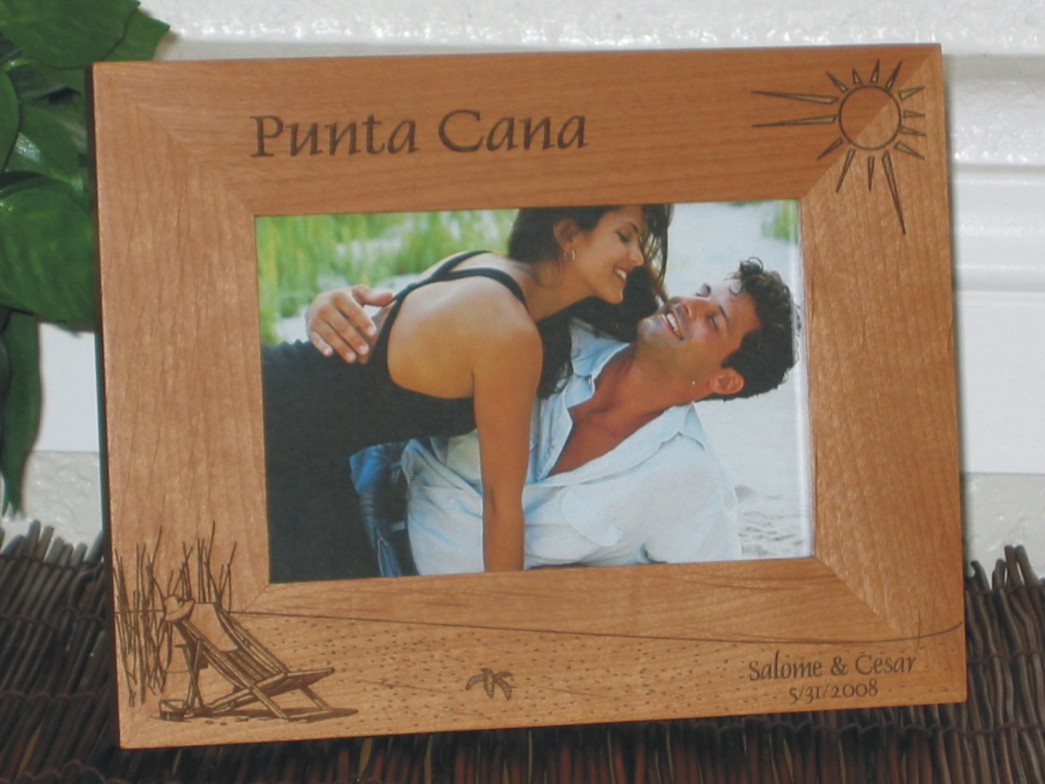 Caribbean Island Picture Frames Personalized Island