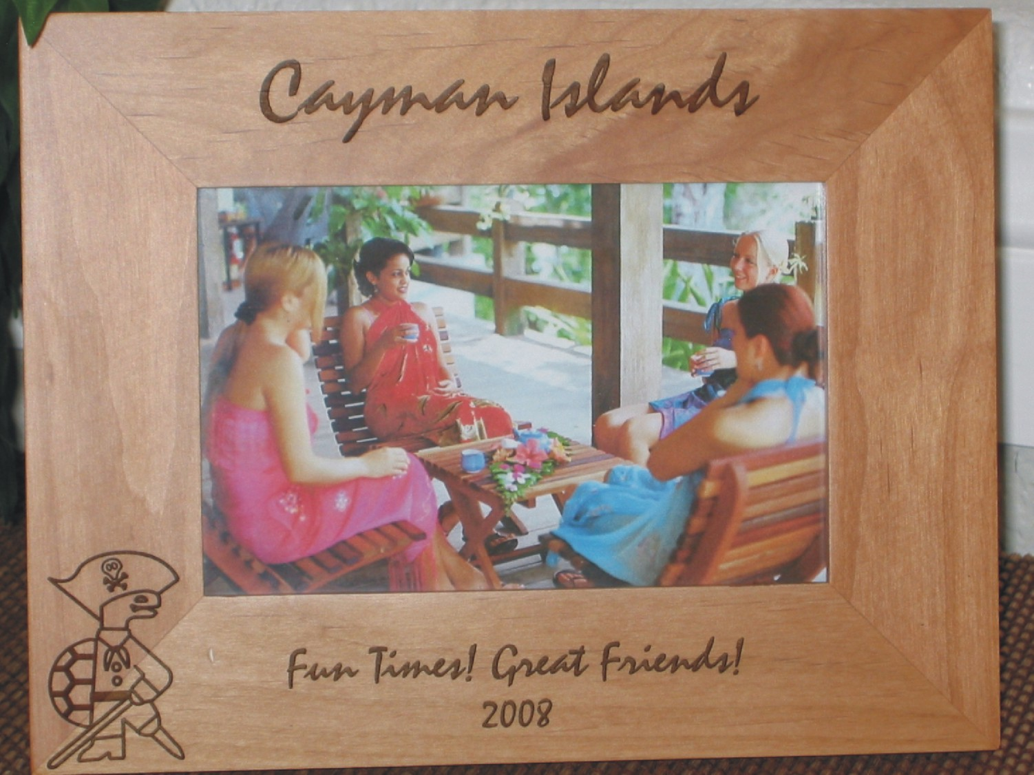 Caribbean Island Picture Frames - Personalized Island Picture Frames