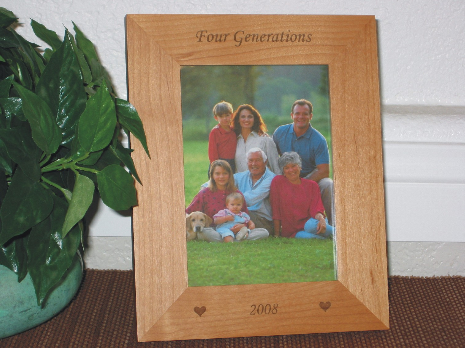 Generations picture frame personalized frame laser engrave 3 generations picture frame personalized frame laser engrave 3 5 generations jeuxipadfo Gallery