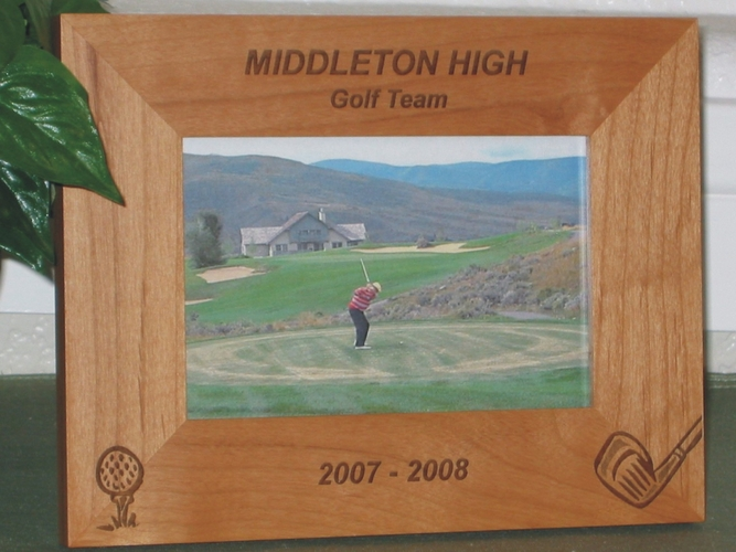 Golf Picture Frames