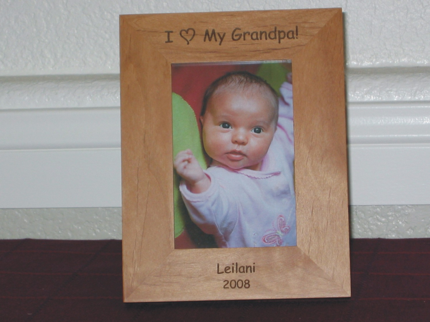I Love You Picture Frames - Personalized I Love you Picture Frames
