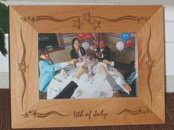 July 4th Picture Frames