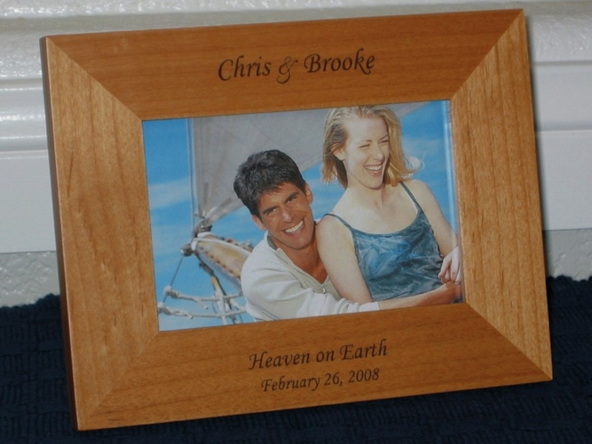 personalized picture frames engraved frames 1795 create your own - Engraved Picture Frame
