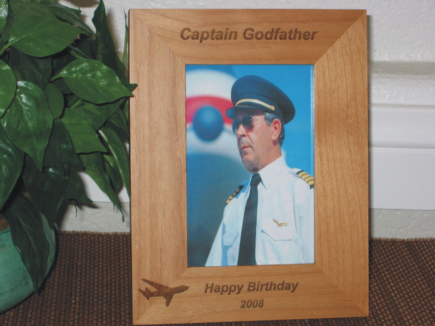 Occupation picture frames personalized occupation picture frames pilot picture frame personalized frame laser engraved airplane jeuxipadfo Gallery