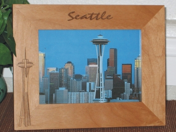 Seattle Souvenir Picture Frames